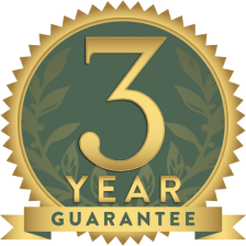 3years guarantee